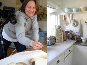 Mari och hennes kök