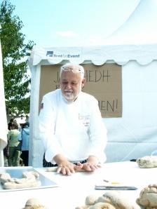 Mästerbagaren Jan Hedh briljerar i skådebröd